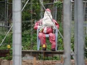 Santa still on Calen Hotel Site