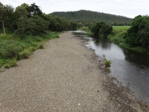 St. Helens Creek 17/5/13 @ Bruce Highway Bridge