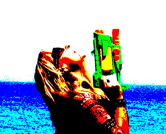 Water Pistols to stay cool