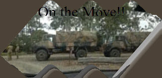 Our army ....on the move