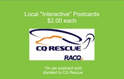 Interactive Postcards helping out