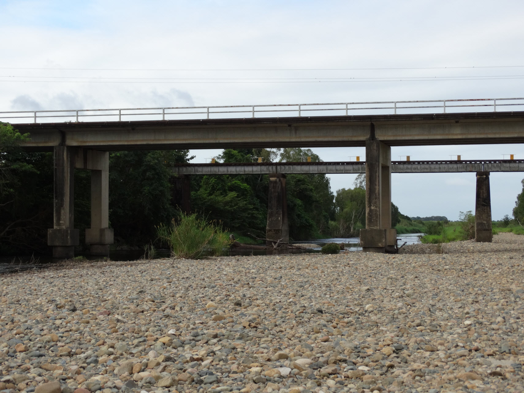 St Helens Creek Rail Bridge