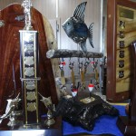 Calen Classic Fishing comp trophies